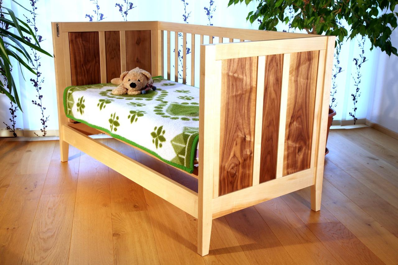Babybett selber bauen mit bauplan  Doppelbett Selber Bauen Anleitung: Kinderbett selber bauen: xxl ...