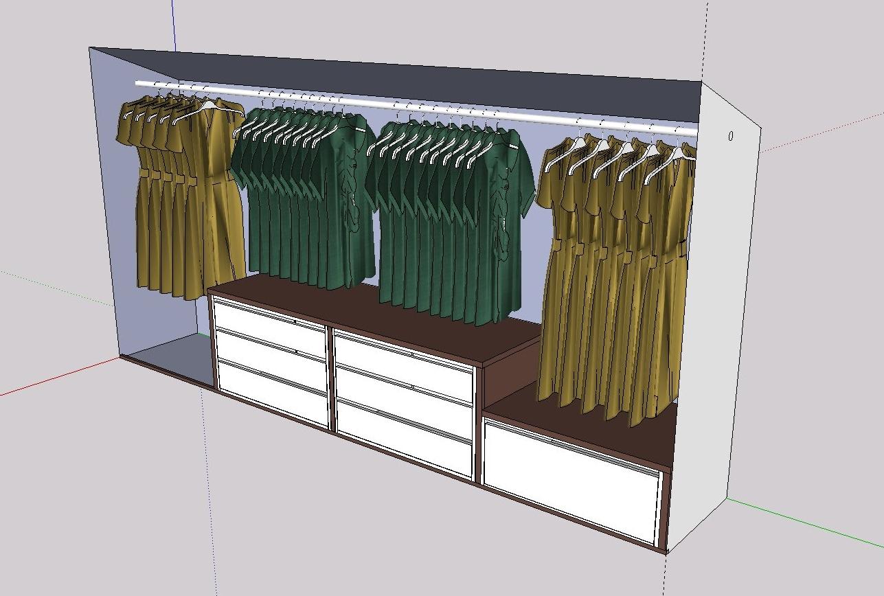 kleiderschrank in dachschr ge neues aus der werkstatt. Black Bedroom Furniture Sets. Home Design Ideas